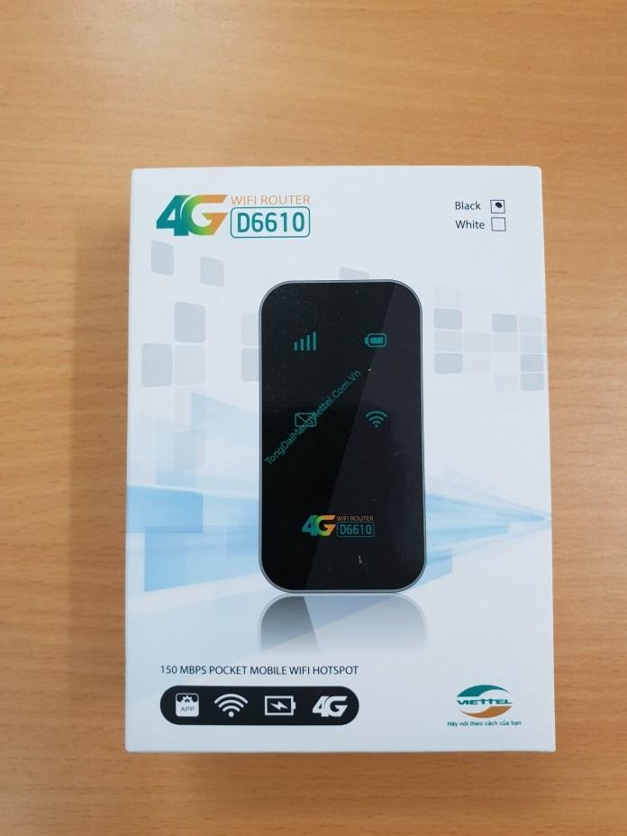 Wifi không dây D6610