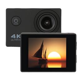 Máy Quay Thể Thao Camera Hành Động Camera Hành Trình F60R 4K Ultra Hd Ngoài Trời Chống Nước Điều Khiển Từ Xa Màu Đen