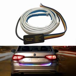 Dây đèn led dán cốp sau xe ô tô 12V-1.2M