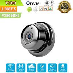 Camera Wifi Treo Tường V380 Mini - Độ Phân Giải FullHD 1080P - Phiên Bản Mới 2019