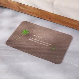 Thảm nỉ chùi chân lót sàn siêu thấm chống trơn trượt 40x60cm màu be