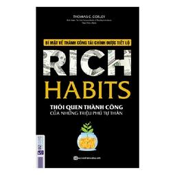 Rich Habits - Thói quen thành công của những triệu phú tự thân - Tặng booksmart siêu dễ thương