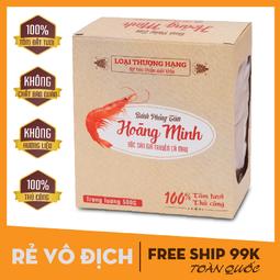 [500G/1HỘP] Bánh phồng tôm Hoàng Minh - Vua Phồng Tôm