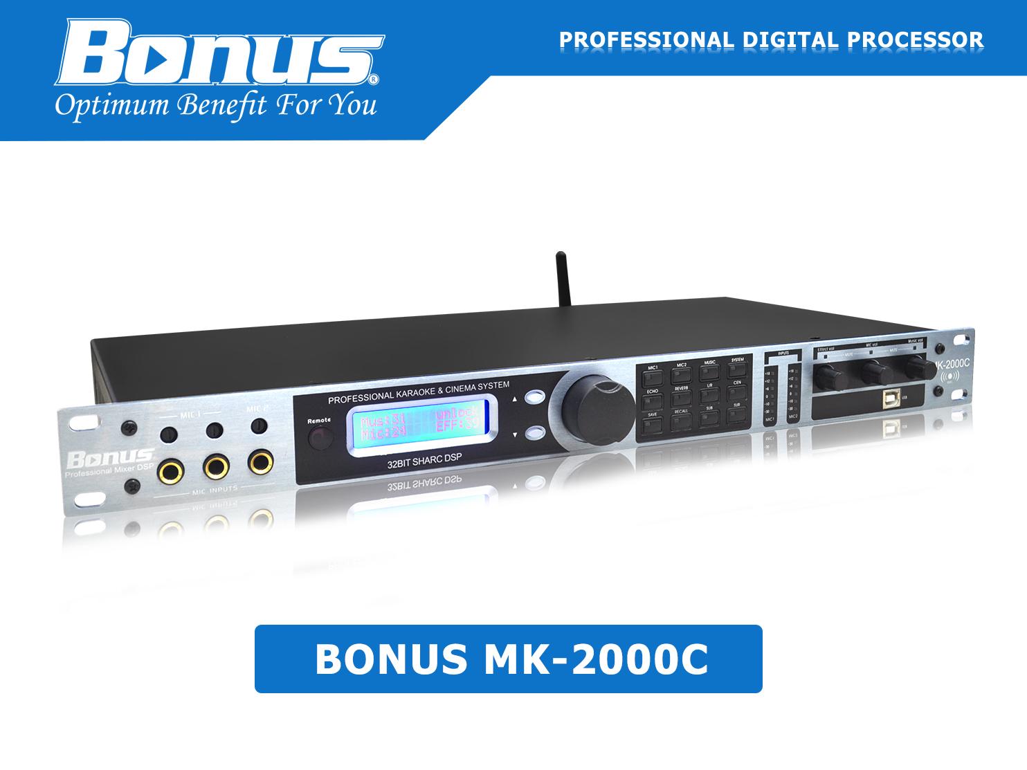 Vang số - Mixer karaoke Bonus Audio MK-2000C