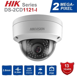 Camera IP Dome 2.0 Megapixel HIKVISION DS-2CD1121-I