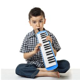 Bộ kèn Melodica piano 32 phím hộp vải cứng dành cho người mới bắt đầu