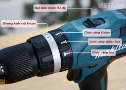 Máy khoan pin Makita 36v- Mẫu mới 2019