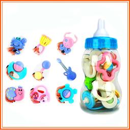 Bộ đồ chơi bình sữa 9 chi tiết