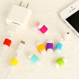 Bộ 10 nút chống gãy dây sạc iPhone, Macbook