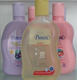 Sữa Tắm gội cho trẻ sơ sinh - Pureen 250ml