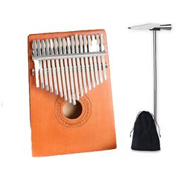 Đàn kalimba 17 phím gỗ mahagony HKV0000295 tặng túi nhung bảo vệ đàn