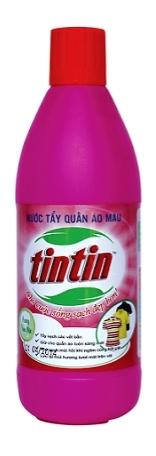 Tẩy quần áo màu TINTIN 300ml