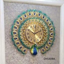 đồng hồ chim công khổng tước môn quà mừng tân gia