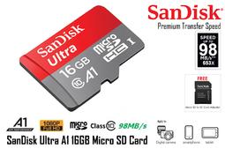 THẺ NHỚ SANDISK 16GB CLASS 10 TỐC ĐỘ CAO