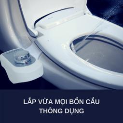 Vòi xịt vệ sinh thông minh Luva Bidet LB 201