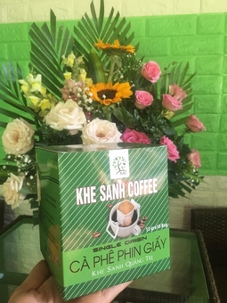 CAFE HỘP PHIN GIẤY