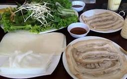 Bánh Tráng Gạo nhúng cuốn thịt luộc_Quảng Ngãi(40 cái)