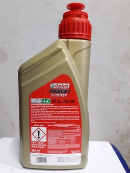 Dầu nhớt Castrol Power 1 Scooter 5W-40 800ml
