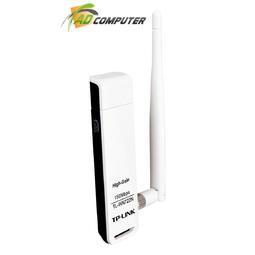 Bộ thu wifi TP-Link TL-WN722N - USB Wifi (high gain) tốc độ 150Mbps