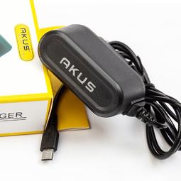 Sạc liền dây chân Micro USB 1M AKUS - V8610