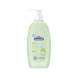 Dầu tắm gội Kodomo Head To Toe Wash 0+ 400ml