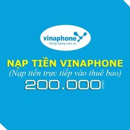Thẻ cào Vinaphone 200