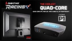 Máy vi tính để bàn Mini PC RACING P1 Intel Quad Core Z8350 on board,4G DDR3L on board, 64G