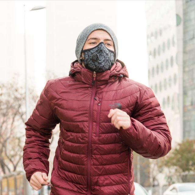 Cambridge Mask Pro N99 - Khẩu Trang Chống Ô Nhiễm Không Khí, Loại Bỏ Toàn Bộ Bụi Siêu Mịn PM2.5, PM0.3 ( Phiên bản Duke Pro, Size XL Dành Cho Cân Nặng Trên 90 Kg )