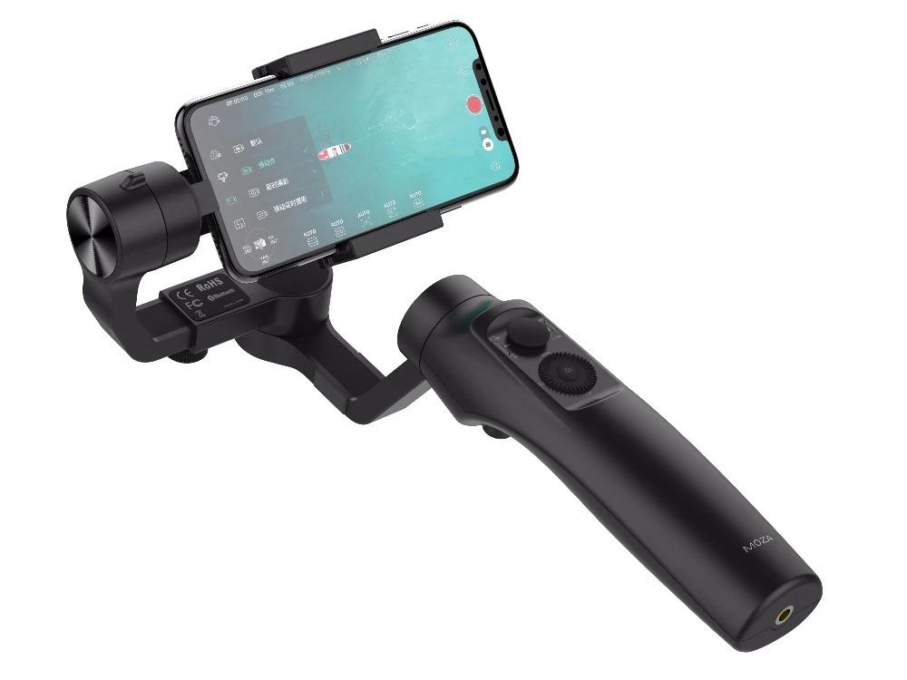 Tay cầm Gimbal chống rung MOZA Mini S dùng quay phim, chụp ảnh, làm Vlog - hàng cao cấp