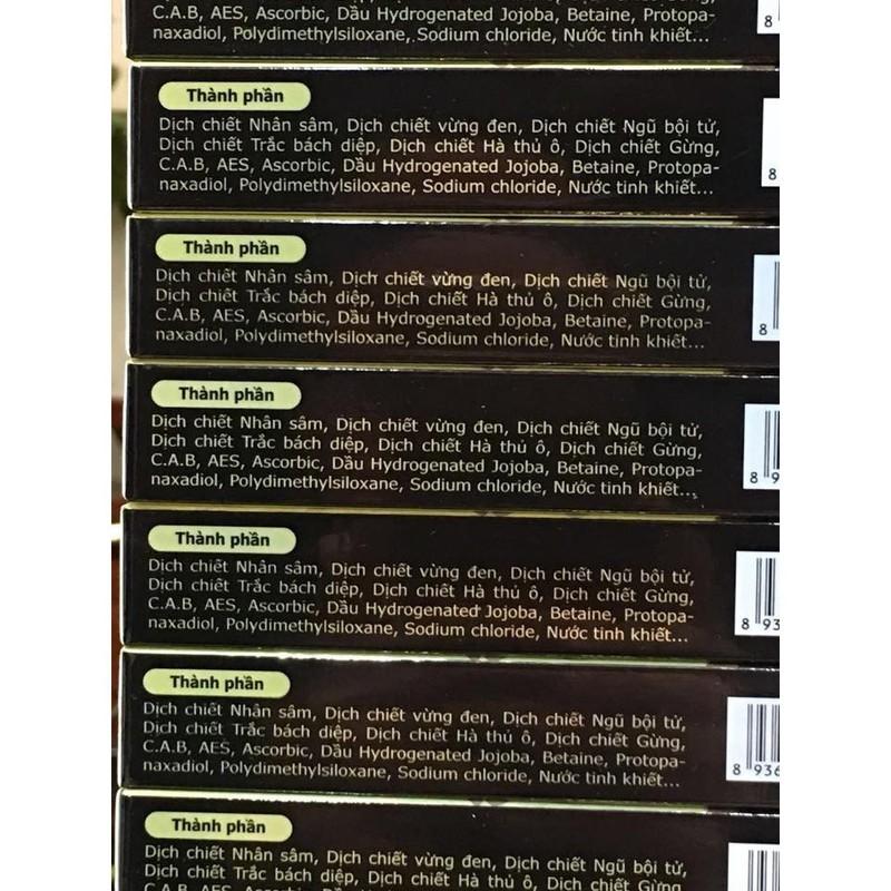 Dầu gội thảo dược đen tóc Tosmedy 45ml