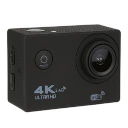 Máy Quay Thể Thao Camera Hành Động Camera Hành Trình F60R 4K Ultra Hd Ngoài Trời Chống Nước Điều Khiển Từ Xa - Màu đen