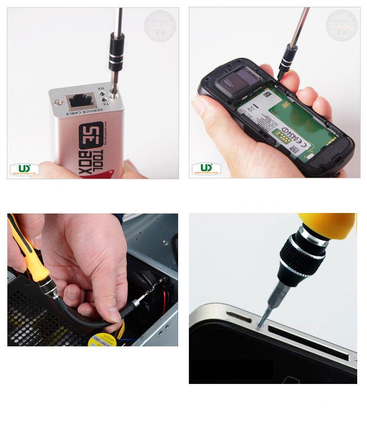 Bộ Dụng Cụ Đa Năng Tua Vít 45 Trong 1 Sửa Chữa Iphone, Máy Móc, Dụng Cụ Gia Đình, Điện Thoại