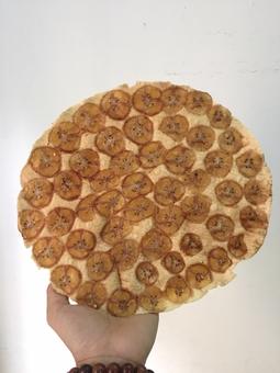 Combo 03 gói bánh tráng chuối nướng - Đặc sản Bến Tre