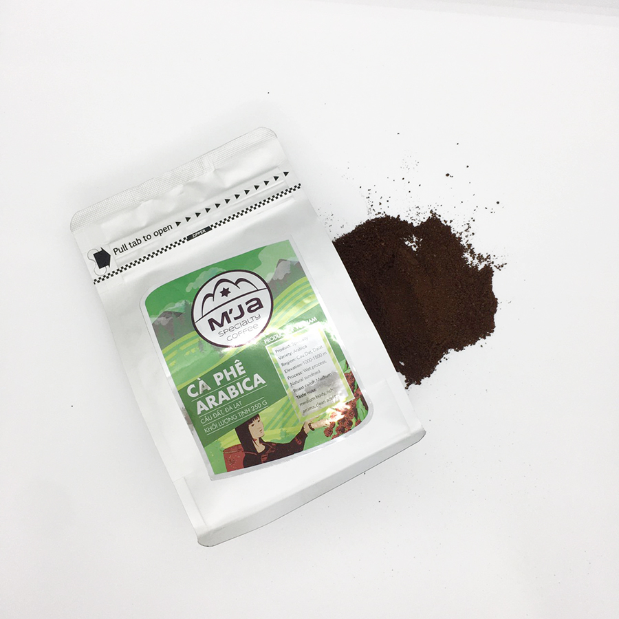 Cà phê M'Ja Arabica 250 gram – Túi nhựa