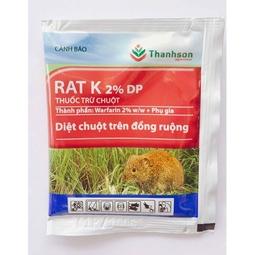 Thuốc Trừ Chuột trên ruộng đồng RAT K - RAT K