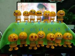 [HOT] Con Lắc Lò Xo Emoji SIÊU HOT Đủ 14 mẫu ib chọn stt