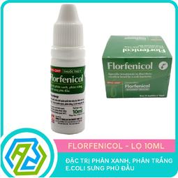 Đặc trị phân xanh, phân trắng, E-coli sưng phù đầu Florfenicol – Lọ 10ml