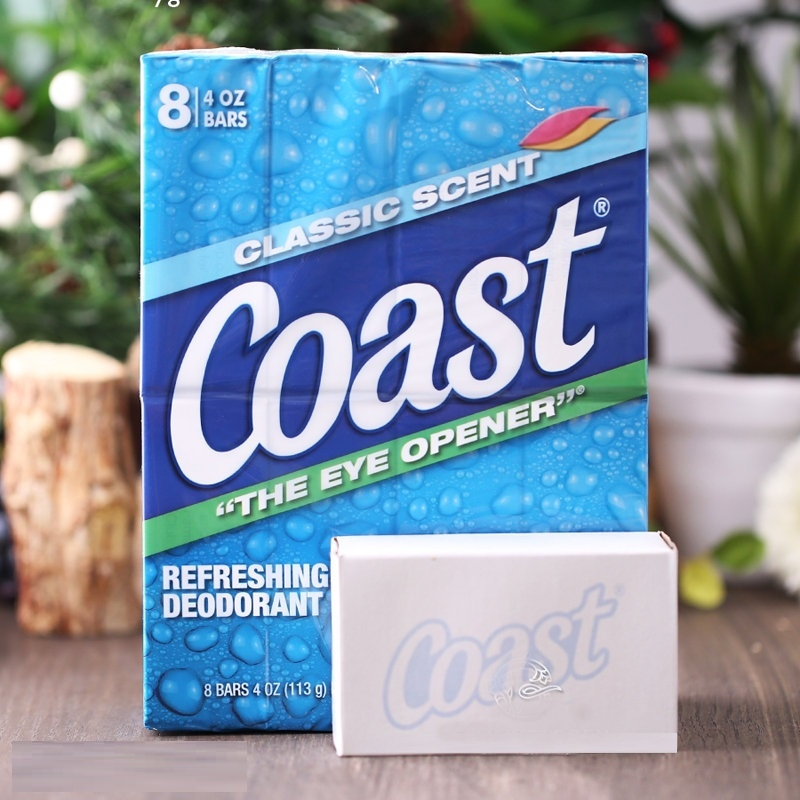 Xà bông Coast mỹ - Lốc 8 cục - hộp trắng - P93205   Sàn thương mại ...