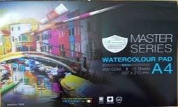 Giấy Vẽ MSTA WATER COLOUR PAD MASTER SERIES A4