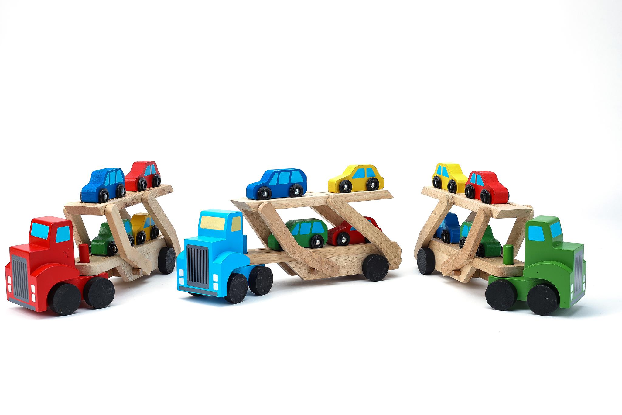 Xe chở ô tô hai tầng B