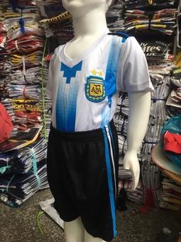 Bộ thể thao bé trai đội tuyển Argentina