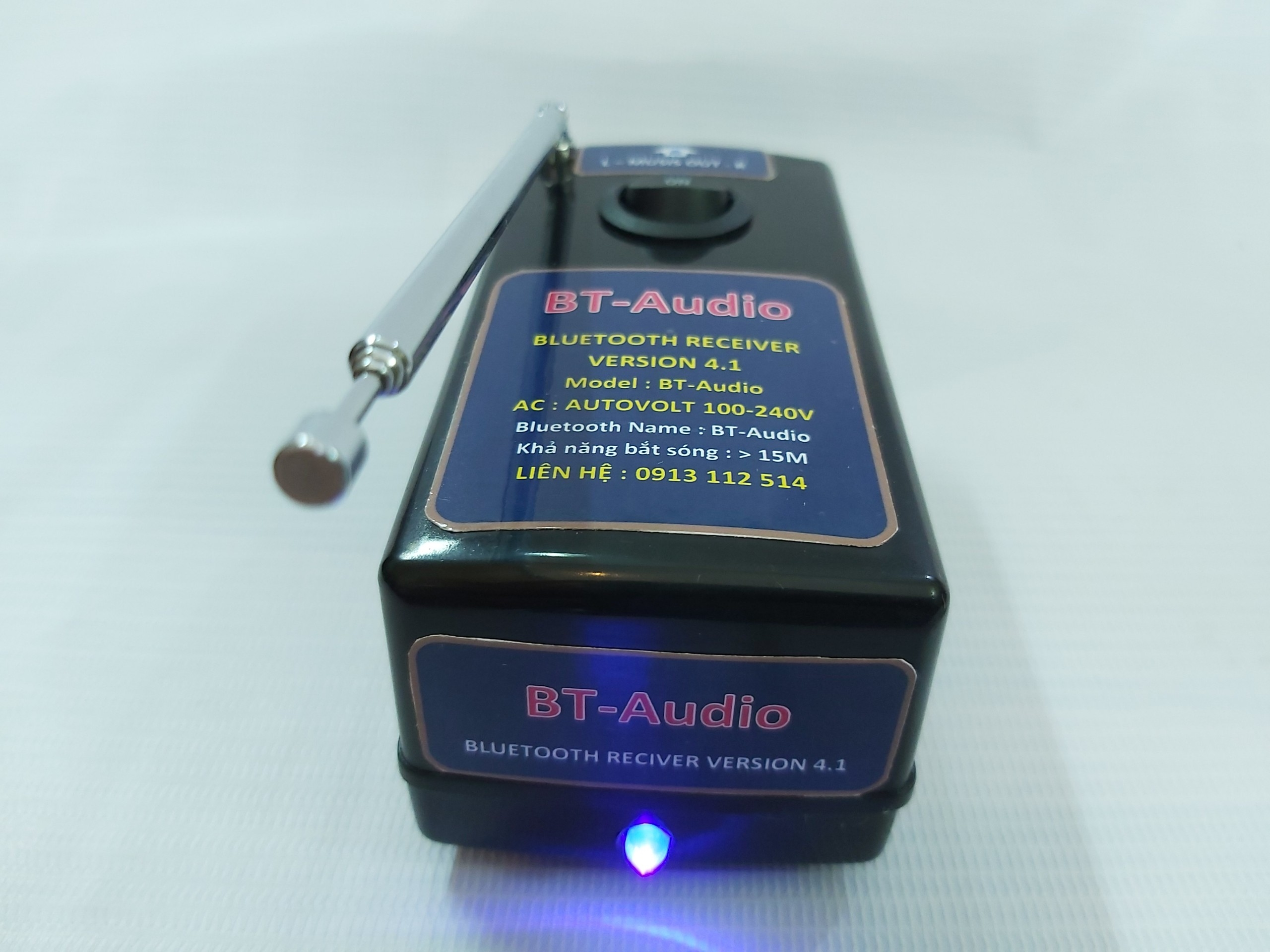 Thiết Bị Nhận BLUETOOTH 4.1 BT AUDIO - Nguồn Auto Volt