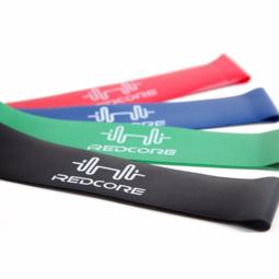 Bộ 4 dây cao su miniband kháng lực tập mông đùi hiệu quả