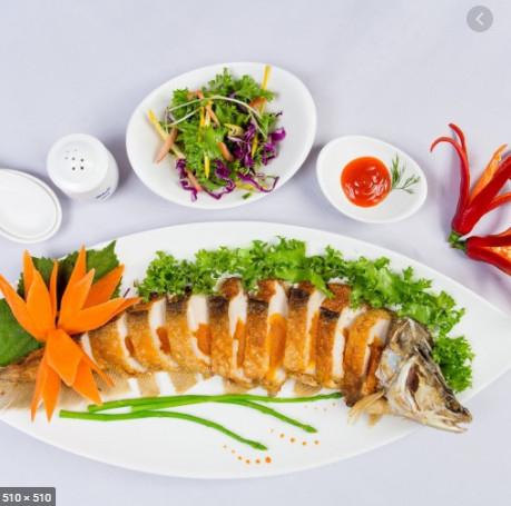 Cá thát lát tẩm gia vị sả nghệ_Hồng Nhanh
