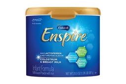 Sữa công thức Enfamil Enspire Infant Formula Non GMO 581g 0-12 tháng (mẫu mới 2019)