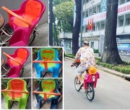 Ghế nhựa ngồi xe đạp và xe đạp điện KIBA