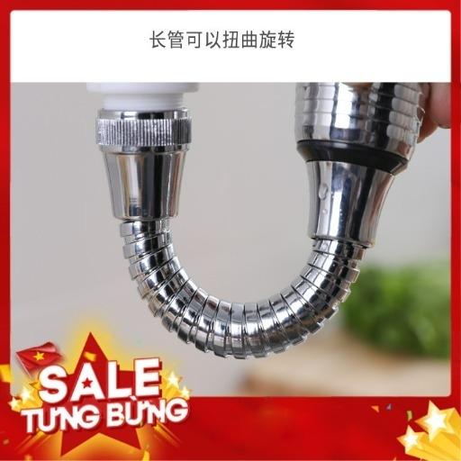 Đầu vòi xoay 360 có 2 chế độ bật nước