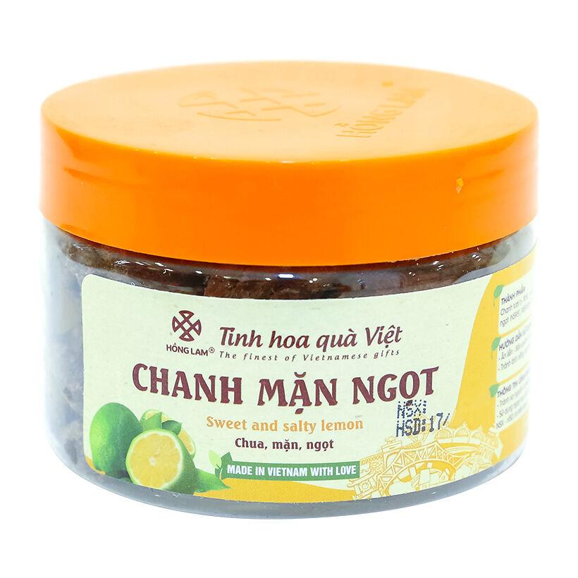 Ô mai chanh mặn ngọt Hồng Lam 200g