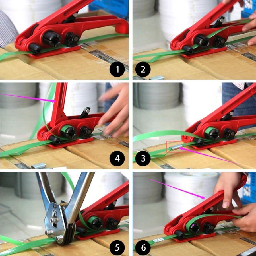 Dụng cụ siết dây đai nhựa PET PP