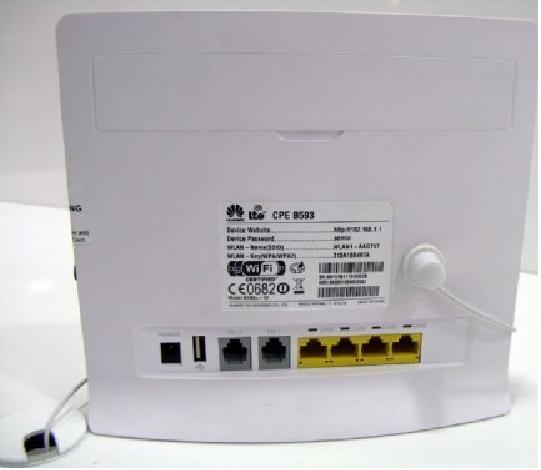 Huawei B593u-12/B593s-12 - Modem Wifi 3G/4G LTE Industrial, Tốc độ 4G 100Mbps, Wifi 300Mbps, Hỗ trợ 32 user đồng thời